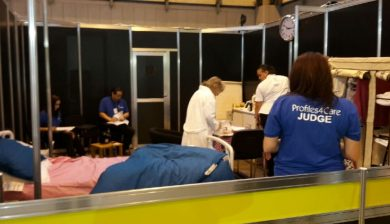 WorldSkills judging photograph