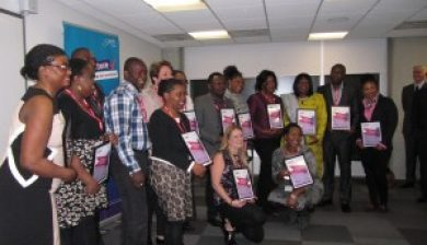 All the winners at the Southwark Council Care Workers Recognition Event picture