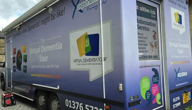 The Dementia Bus photograph