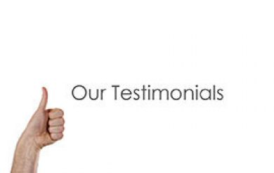 our testimonials picture
