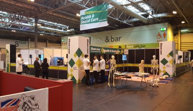 WorldSkills stand picture
