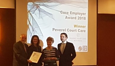 Photograph of Oxfordshire Care Awards 2018