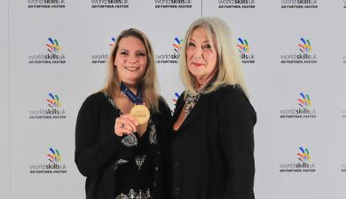 Gold Medal Winner Vikki Thompson of Derwentside College